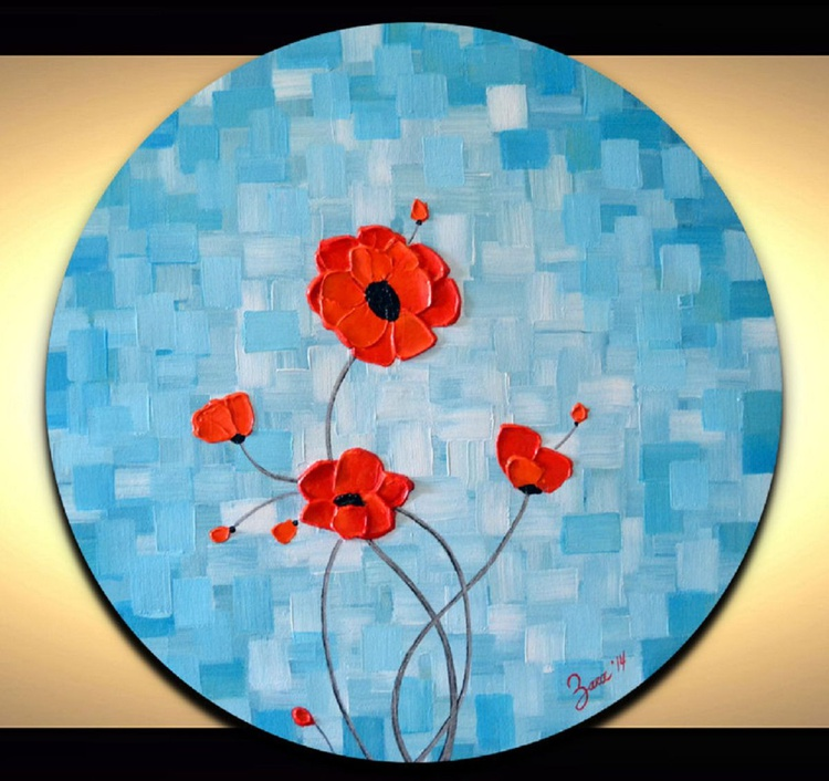 """""""Red Poppies"""" - Image 0"""
