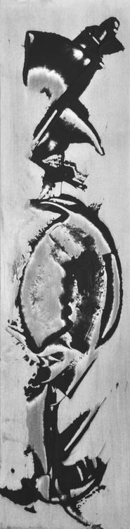 15-34 encre sur papier 20x80cm - Image 0