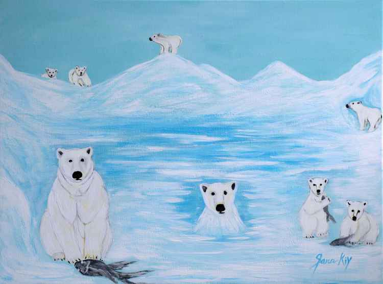 Polar Bears. Inspirations Collection -