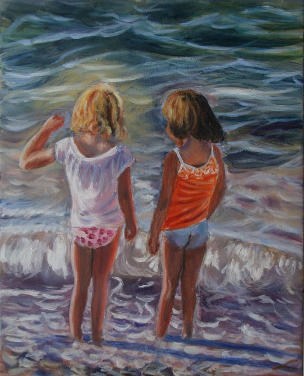 Girls at the sea - Image 0