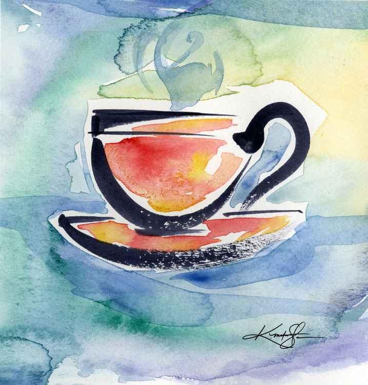 Coffee Dreams No 13 - Original Watercolor -