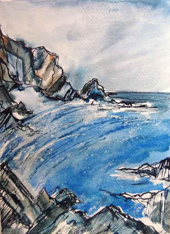 The Secret Beach,Lee Bay -