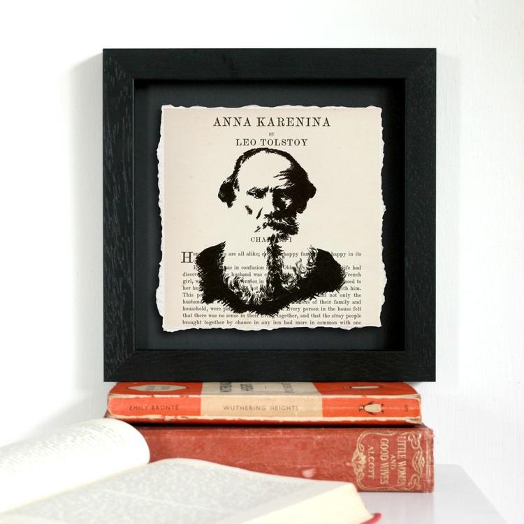 Tolstoy - Anna Karenina (Framed) - Image 0