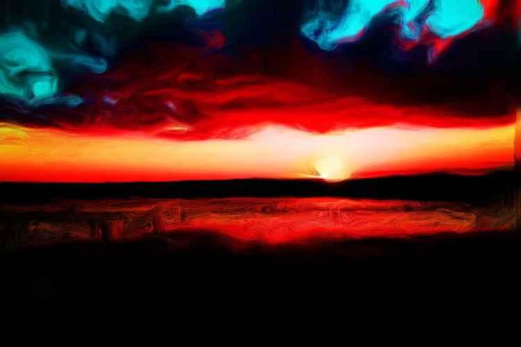 Everglades Sunset II -