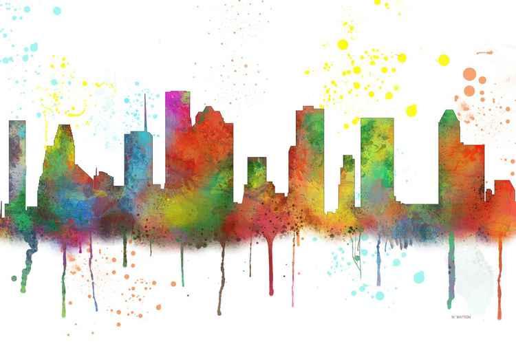 Houston Skyline MCLR1