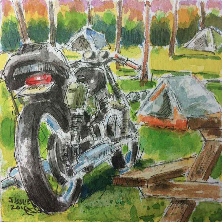 Study for Motorbike Campsite