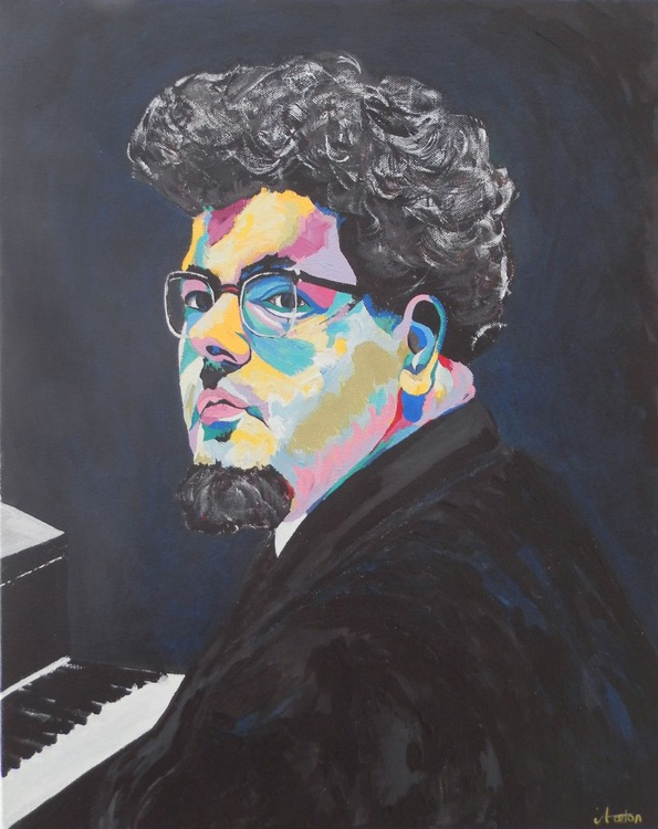 Portrait of John Ogdon - Piano Man - Image 0