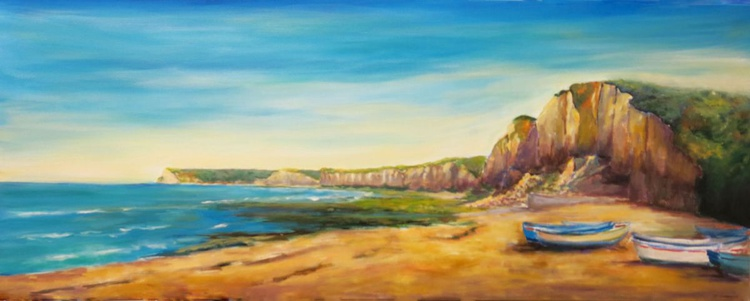 The Beach at Yport, Normandy - Image 0