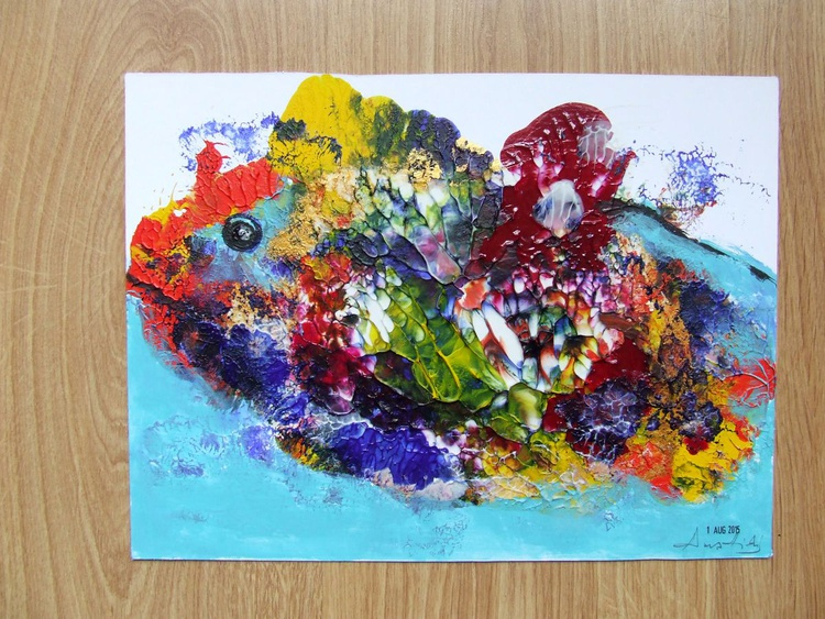 The Colourful Whale - Image 0