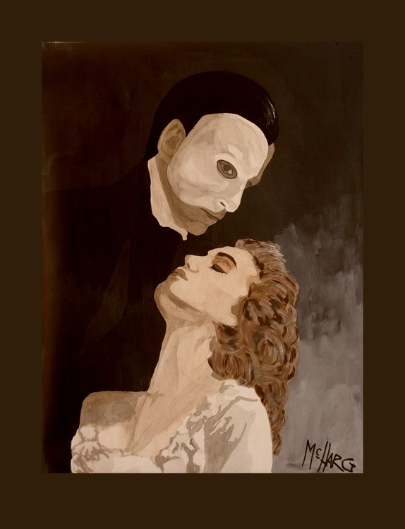 "The Phantom  18"" x 24"" - Image 0"