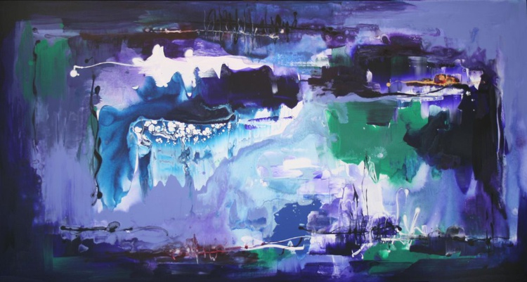 ABSTRACT / Sapphire kingdom (large) - Image 0
