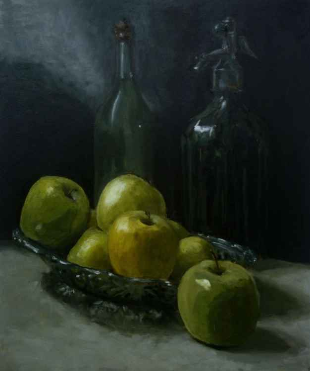 still life with appels