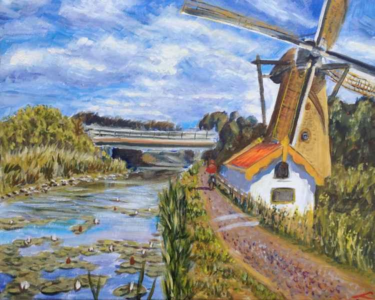 Windmill in Maasluis -