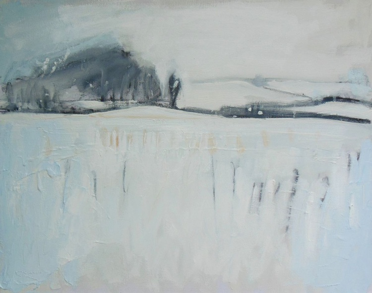 Snow and Distant Hills - Image 0