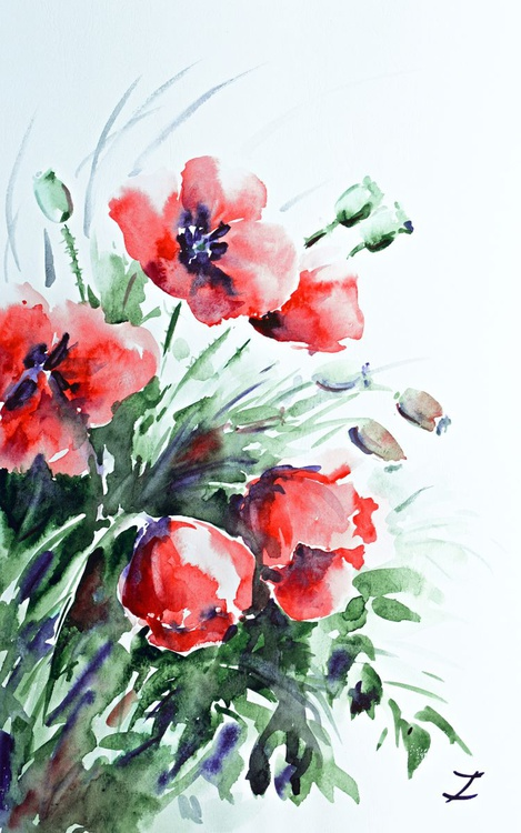 Morning Poppies - Image 0
