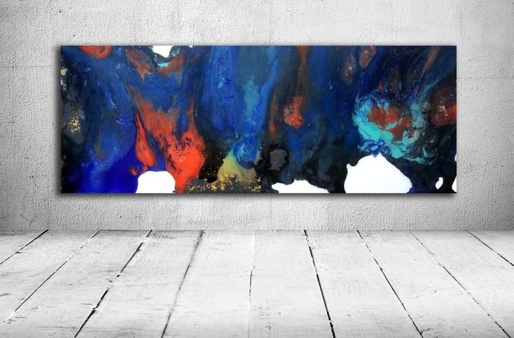 abstract (acrylic painting  resine) - Image 0