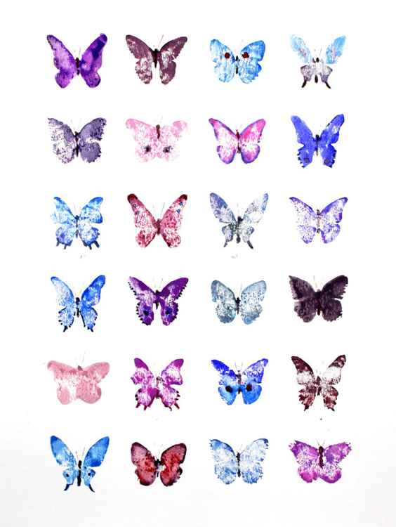 Twenty-four Butterflies 3040PB1