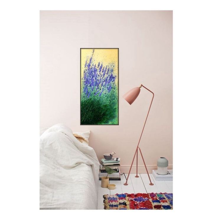 Lavender impression-Ready to hang original painting - Image 0
