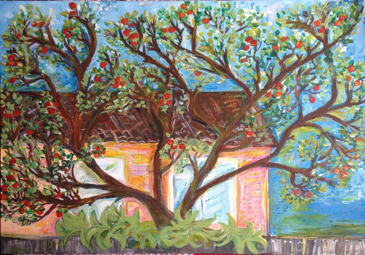 Apple Tree and a House - Image 0