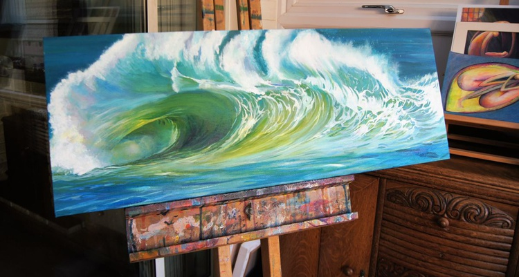 Vibrant wave - Image 0