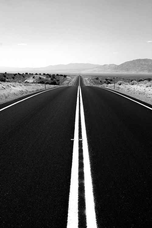 Loneliest highway in America - US 50 in Nevada -