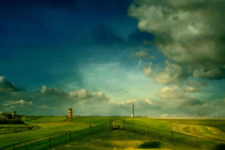 East Frisia .... the final frontier - Canvas 75 x 50 cm - Image 0