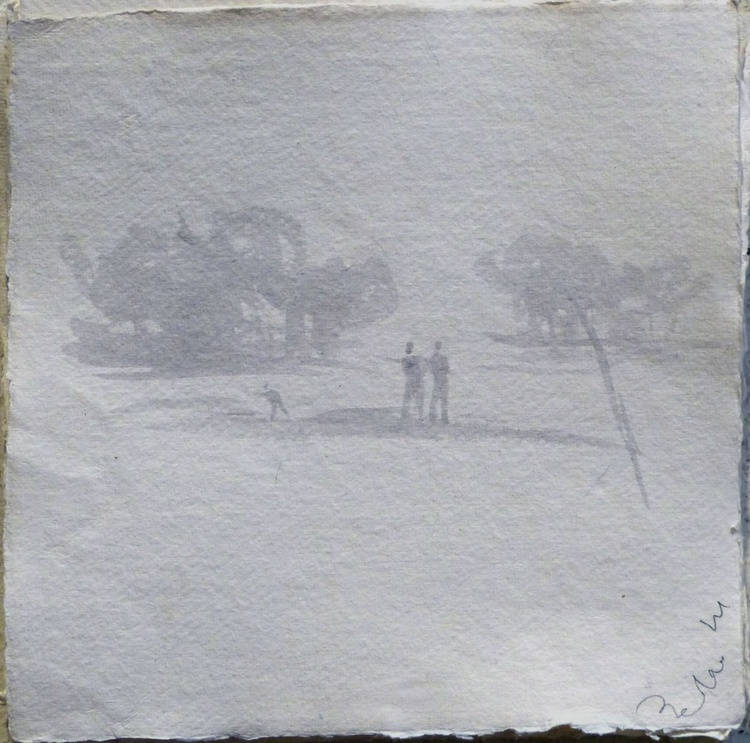 Day out in the countryside, 21x21 cm - Image 0