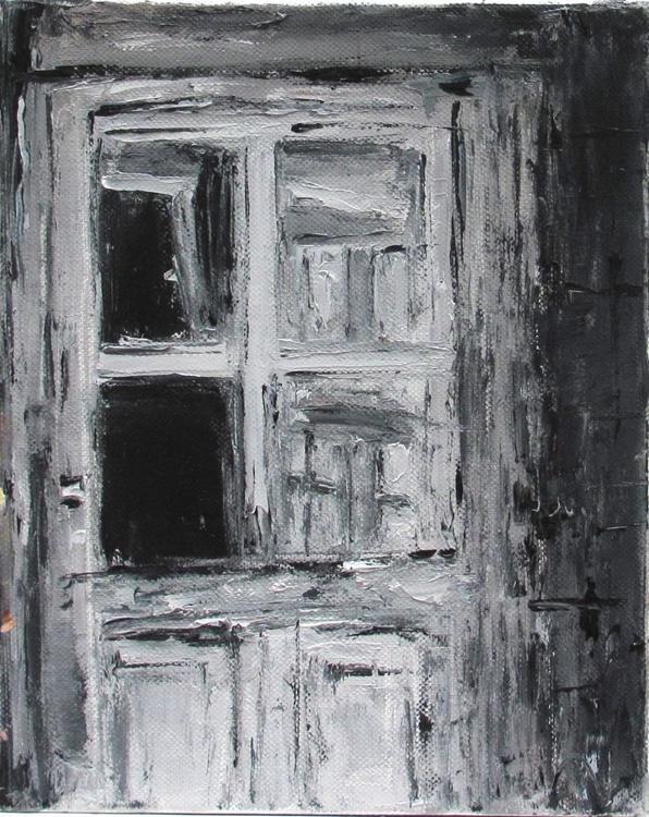 Sketch, Black and White Door - Image 0