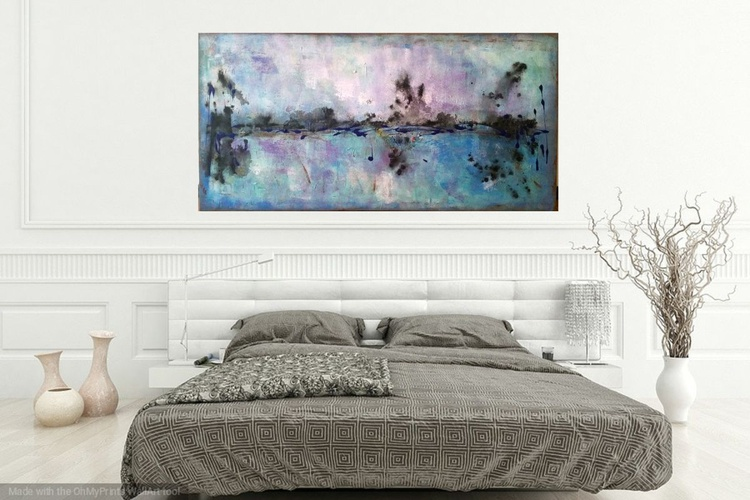 "The perfect life, .Size:47x 23""( 120x60cm) - Image 0"