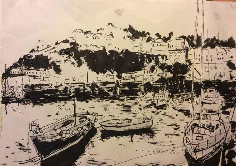 Mevagissey harbour #3
