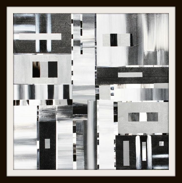Black, Silver, White II Series - Image 0