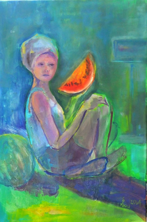 THE GIRL WITH A WATERMELON - Image 0