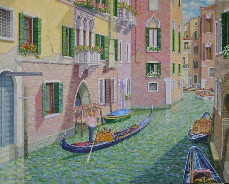 Maneuvering the Venetian Canals - Image 0