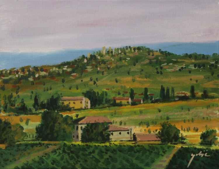 Toskana landscape, Italy