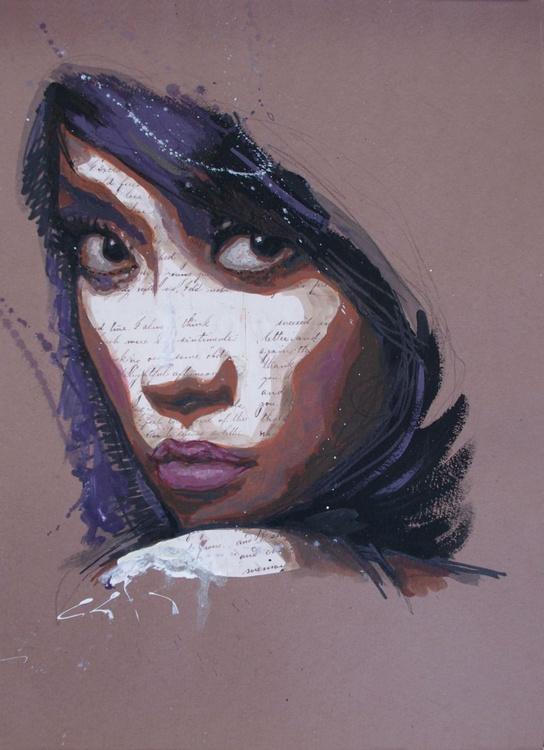 black eyes - nice beauty, portrait, fashion - Image 0