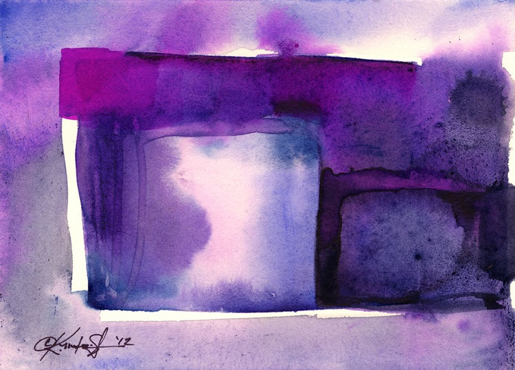 Watercolor Abstraction No. 214 - Image 0