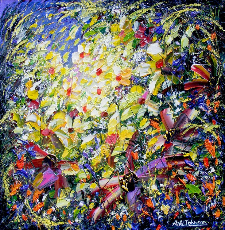 """Ready to Frame - """"Wild Bouquet"""" - Image 0"""