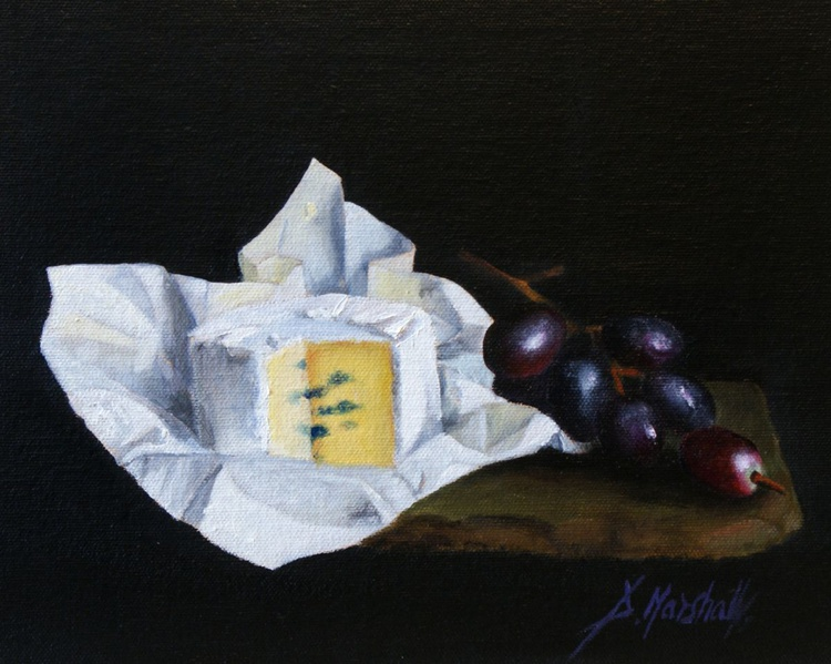 Unwrapped  25 x 20cm  oil on canvas panel - Image 0