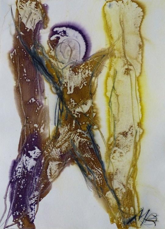 Prolegomena #70 , Acrylic on paper 29x42 cm - Image 0