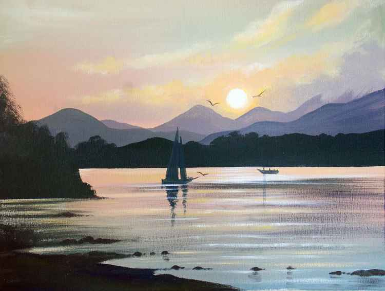 killarney sunset -