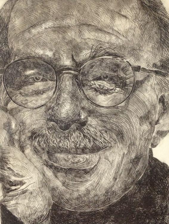 Old Man Smiling - Image 0