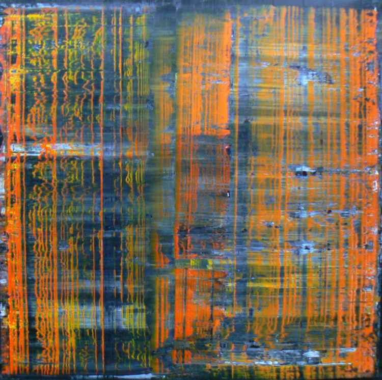 Richter Scale - Isabelle Orange over Grey - Destroyed