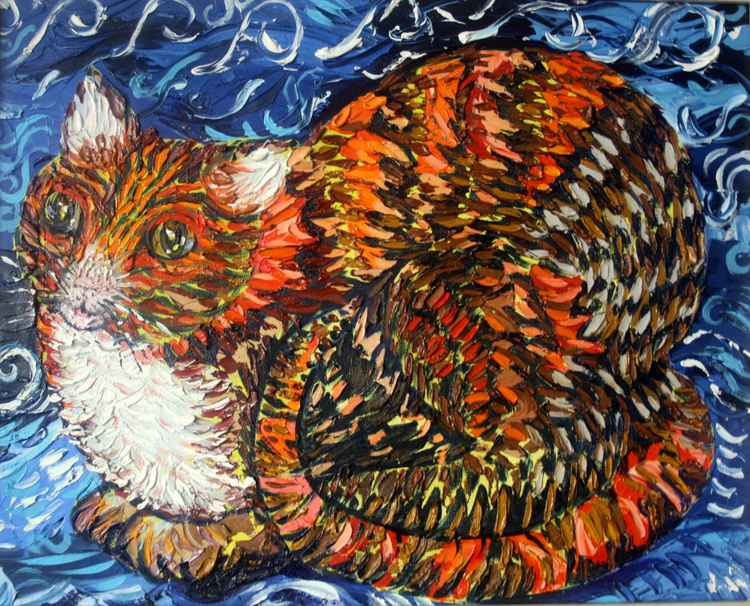 Surtsey the Cat -
