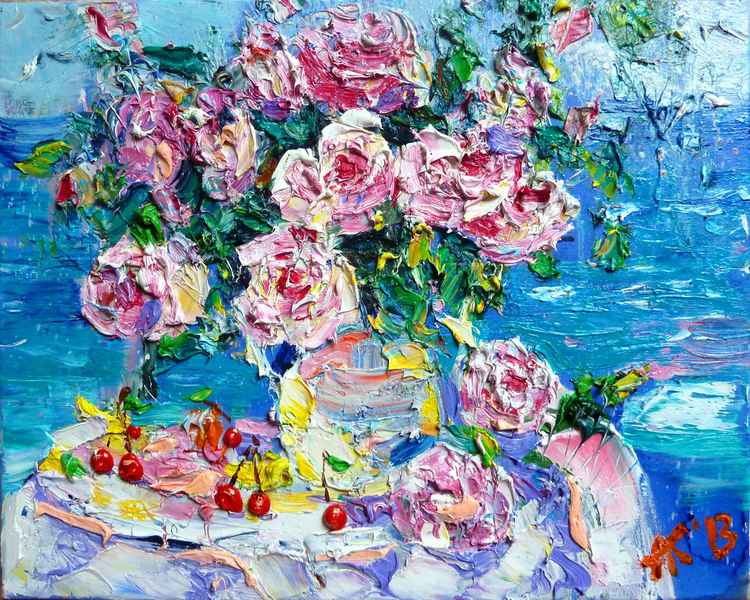 roses by the sea -