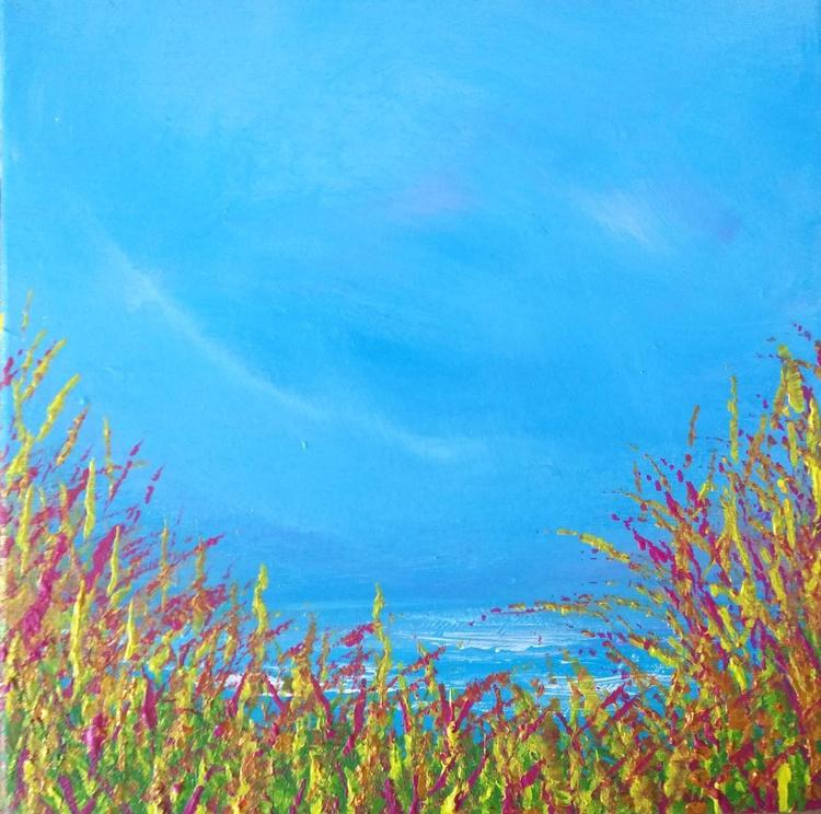 Surf Whisper - Great gift for Beach Lovers; Modern Art Office Decor Home Seascape - Image 0