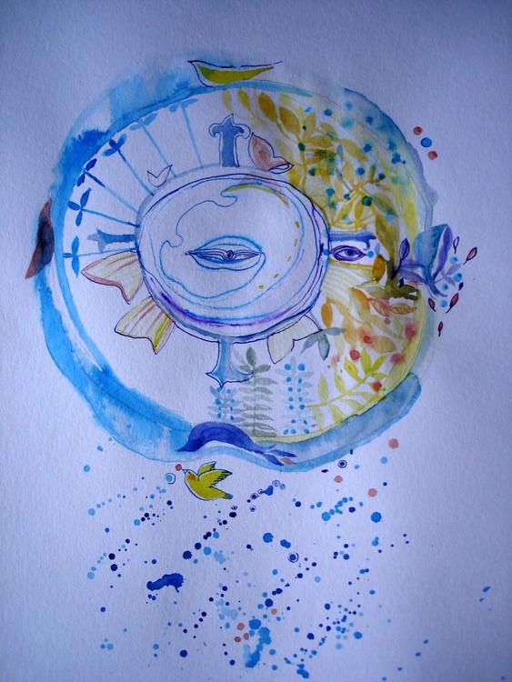 Mandala of the fish - Image 0