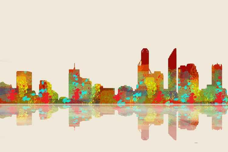 Perth Skyline 2 -