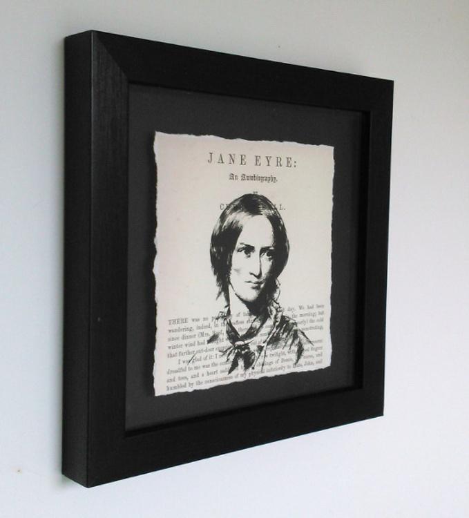 Charlotte Brontë - Jane Eyre (Framed) - Image 0