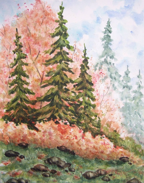 Autumn Hillside - Image 0