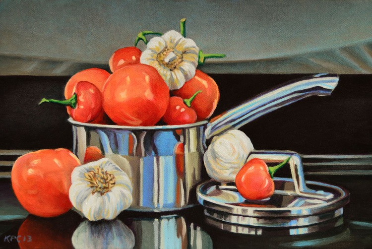 Tomato, Peppers and Garlic - Image 0